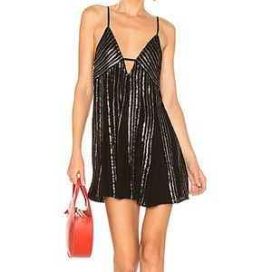 Free People Here She Is Embellished Dress